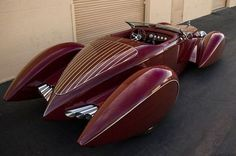 1932 Auburn - V12 Boattail Speedster. source