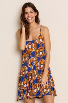 d44372eaff5 VESTIDO SEMPU SARDINIA LARANJA - totemstore. Eleni Venetsanakos · Brazil  Fashion