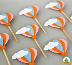 Uçan balon Balloon Birthday Themes, Birthday Decorations, Baby Shower Decorations, Shower Bebe, Baby Boy Shower, Baby Birthday, 1st Birthday Parties, Deco Cupcake, Festa Party