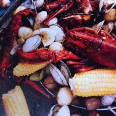 One pot clambake ala Bon Apetit Mag