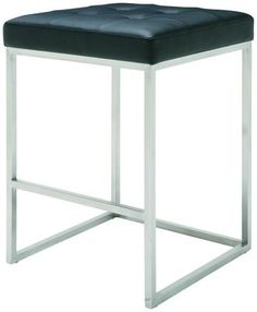 Chi Counter Stool in Black by Nuevo - HGPA106