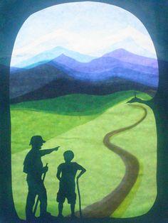 Fensterschmuck - The pilgrimage - ein Designerstück von art4windows bei DaWanda