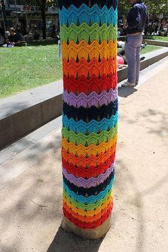 Yarn Bomb-Unravel With Crochet  https://www.facebook.com/Unravel.With.Crochet