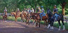 'Just Horses'  Sharon Crute