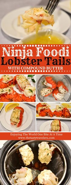 Pressure Cooker Lobster Tails in only 2 minutes! And....the recipe for the BEST Compound Butter EVER!!!! OMG Yumm!!
