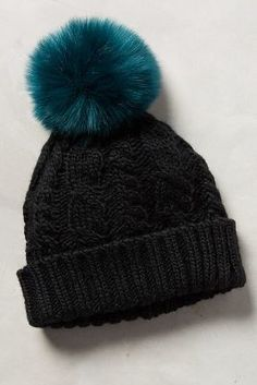 Totally cute! Comes in different colors too! Anthropologie Sidonie Pom Beanie