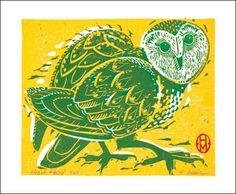 Heart Faced Owl, Holly Meade