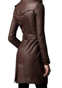 Black Leather Trench Coat Women genuine lambskin Winter Coat Sizes S,M,L,XL, 012 Long Leather Coat, Leather Trench Coat, Trench Coats, Leather Jackets, Burberry Trench Coat, Women's Coats, Brown Leather, Coats For Women, Jackets For Women