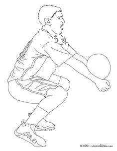 Volleyball Player Setting The Ball Coloring Page More Sports Pages On Hellokids