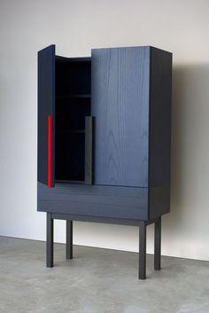 Danish Modern Furniture, Small Furniture, Ikea Furniture, Furniture Styles, Painted Furniture, Furniture Design, Japanese Colors, Sideboard Furniture, Furniture Inspiration
