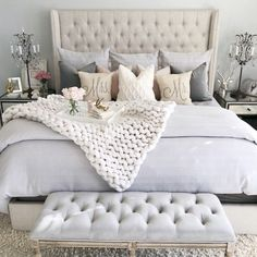 23 super Ideas for bedroom colors ideas for women shabby chic - 23 super Ideas . - 23 super Ideas for bedroom colors ideas for women shabby chic – 23 super Ideas for bedroom color - Shabby Chic Bedrooms, Home Decor Bedroom, Modern Bedroom, Dream Bedroom, Bedroom Design, Woman Bedroom, Master Bedrooms Decor, Shabby Chic Bedroom, Bedroom Colors