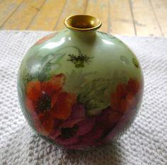 "R C. Initials J.S. 4"" high Initials, Porcelain, Vase, Home Decor, Porcelain Ceramics, Decoration Home, Room Decor, Flower Vases, Interior Design"