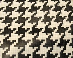 DOG TOOTH DESIGN ON NEW PRINTED LEATHER BY WISH LEATHER - ANY PATTERNS OR IMAGERY FOR ALL APPLICATIONS INC LEATHER GOODS