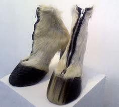 wearable shoe art - Google Search