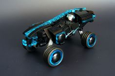 An adaption of Daniel Simon's Light Car  from Tron Legacy, encouraged by _zenn.  Maybe needs a grid as backdrop - maybe one day.