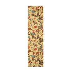 Ivory Paisley Rug (2'7 x 9'10) | Overstock™ Shopping - Great Deals on EORC Runner Rugs