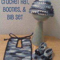 http://www.usscrafty.com/2014/08/blue-camo-crochet-hat-booties-and-bib.html