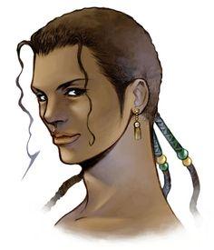 Kiros Seagill from Final Fantasy VIII