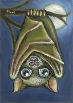 One adorable Bat - 5x7 print by Tanya Bond. Starting at $9 on Tophatter.com!