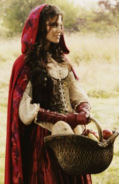Once Upon A Time Red Costumes Once upon a time