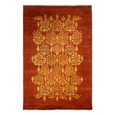 """Valley Collection Oriental Rug, 6' x 9'3"""""""
