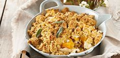 Chicken, butternut and feta crumble | Food24