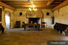 Templar Quest - Mysteries of the Knights Templar This could be like a lesser lord's hall - a vassal or something, where a questing knight has dinner