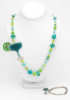 Salt & Lime #Necklace & #Bracelet   Projects   Create At Cousin #DIY #jewelry #margarita #cincodemayo @walmart