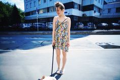 Lazy Sunday Colorful dress by Monki