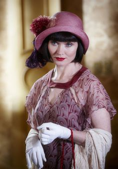 Miss Fisher's Fabulous Fashion- love the neckline