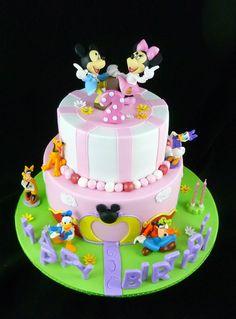 Beautiful Disney Cake - Perfect for Haylee!
