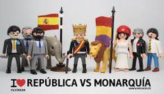 República vs monarquía