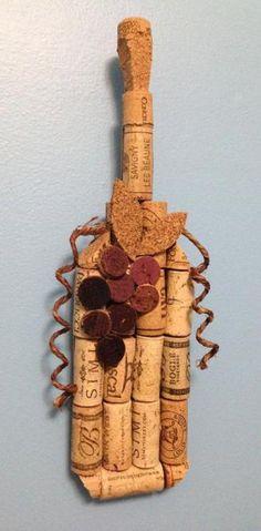 Wine Bottle Cork Crafts 2