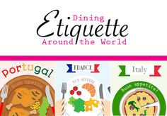 Helpful Infographic of Dining Etiquette around the World