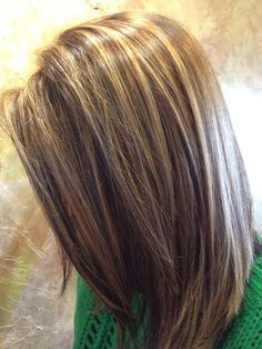 Brown hair. Highlights. Lowlights.   Hair...!   Pinterest