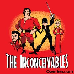 The Inconceivables | Qwertee : Limited Edition Cheap Daily T Shirts | Gone in 24 Hours | T-shirt Only £8/€10/$12 | Cool Graphic Funny Tee Shirts