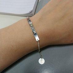 Medic Alert Bracelet Medical Alert Bracelet Allergies Alert   Etsy Id Bracelets, Ring Bracelet, Diabetic Bracelets, Gold Filled Jewelry, Allergies, Bracelet Designs, Solid Gold, Medical, Sterling Silver