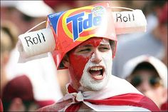 ALABAMA - Cra cra Bama fan