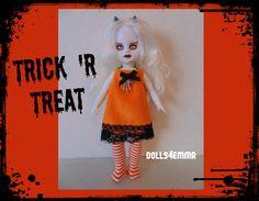 LIVING DEAD Doll Clothes Goth Handmade Fashion by DOLLS4EMMA on Etsy