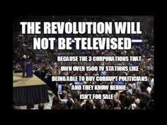 "Gil Scott Heron ""The Revolution will Not be Televised"" (Bernie Sanders Version) | Published Aug 13, 2015 | https://youtu.be/PS-1m1LUNNQ?list=PLx13XUpSaxm6dpDAxIfwz3dDCo_Ahyf1A | Bernie Sander, Gill Scott Heron, ""The Revolution will not be Televised""."