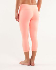 Love this color. Wunder Under Crop for yoga.