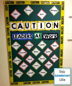 This Elementary Life Leader in Me bulletin board  sc 1 st  Pinterest : leaders doors - pezcame.com
