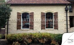 functional shutters exterior | Window & Functional Shutter Hardware | MartellHardware.com ...