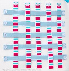 Weaving Activity for Your Very Own Quiet Time Book project