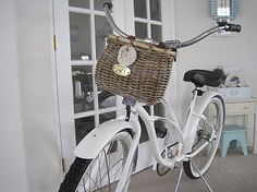 bike - looks exactly like the one that was in a recurring dream of mine when I was little.  Another life perhaps...