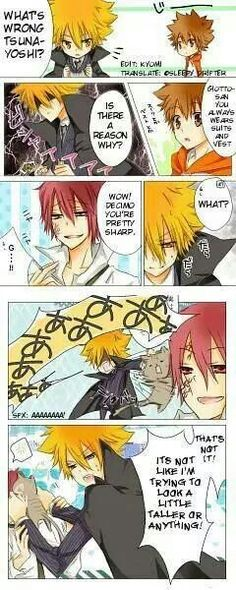 Omg!! Giotto-sama so cute~~♡♡
