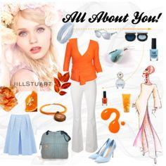 """""""All about You!"""" by annawirejewelry on Polyvore Polyvore, Image, Fashion, Moda, Fasion, Fashion Illustrations, Fashion Models"""
