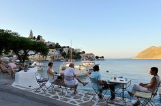 Tsati bar, Simi island (by Julia Klimi) Greeks, Small Island, Greek Islands, Beach Photos, Beaches, Tourism, Paradise, Landscapes, Places To Visit