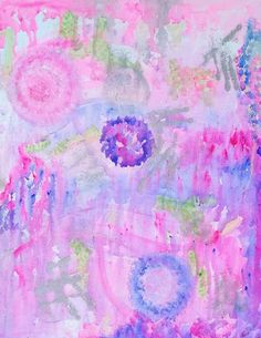Orbs  Abstract by hazeydreams on Etsy