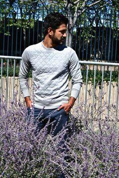 Quilted #menfitness #mensfitness #mensports #sweatshirts #hoodies #fitmen